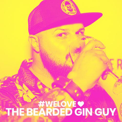 we love the bearded gin guy